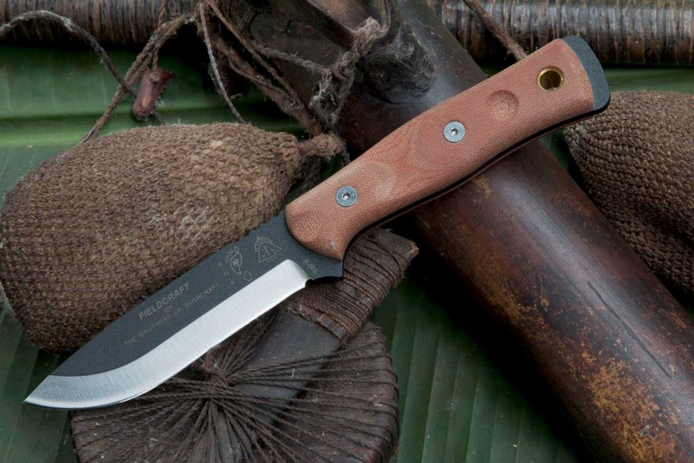 Fieldcraft By Brothers Of Bushcraft Knife Tops Knives Tactical Ops Usa