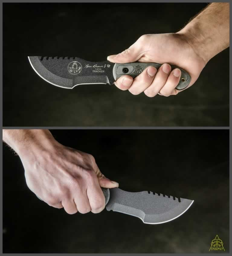 Tom Brown Tracker 2 Knife Tops Knives Tactical Ops Usa