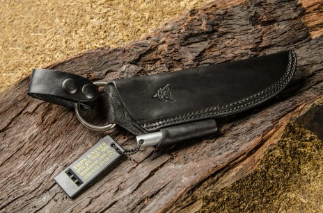 Bushcraft Leather Black Front