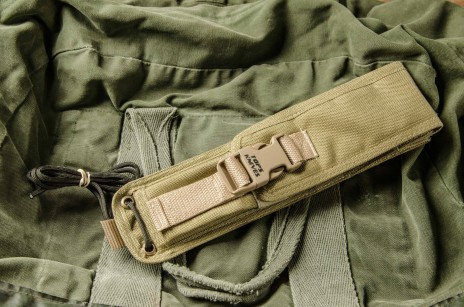 Coyote Tan Nylon Fold-over