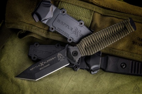 Wolfhawk Tanto Point Paracord Handle