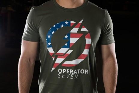 Operator 7 Tee Olive Drab
