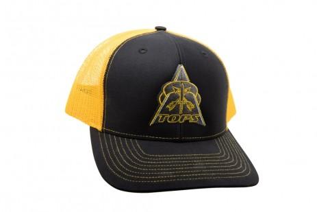 TOPS Trucker Hat Black/Yellow