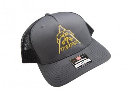 TOPS Trucker Hat Charcoal/Black