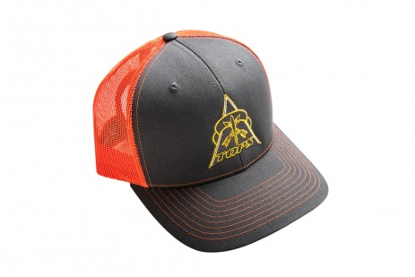 TOPS Trucker Hat Black/Orange