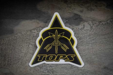 TOPS Logo Sticker