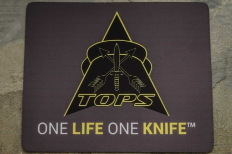 TOPS Logo Cleaning Mat