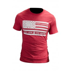 Flag Logo Tee Red