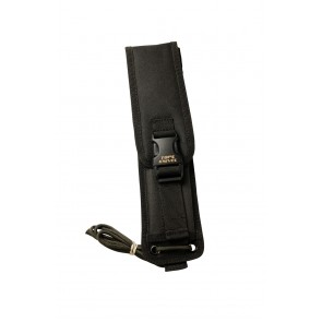 Black Ballistic Nylon Fold-Over