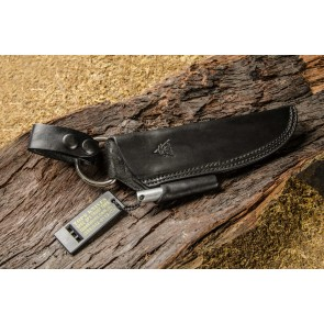 Bushcraft Leather Black Front