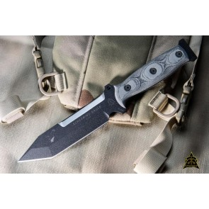 Screaming Eagle Tanto Point Micarta