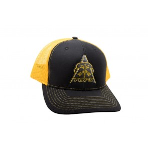 TOPS Trucker Hat Black/Yellow
