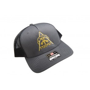 TOPS Trucker Hat Charcoal/Black