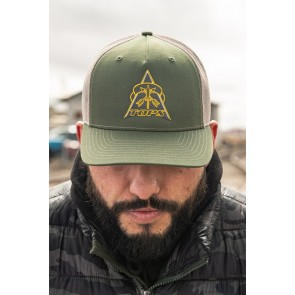 TOPS Hat - Trucker OD/Tan