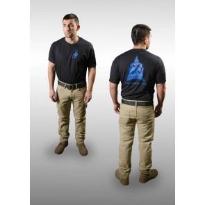 TOPS Blue-Black T-Shirt