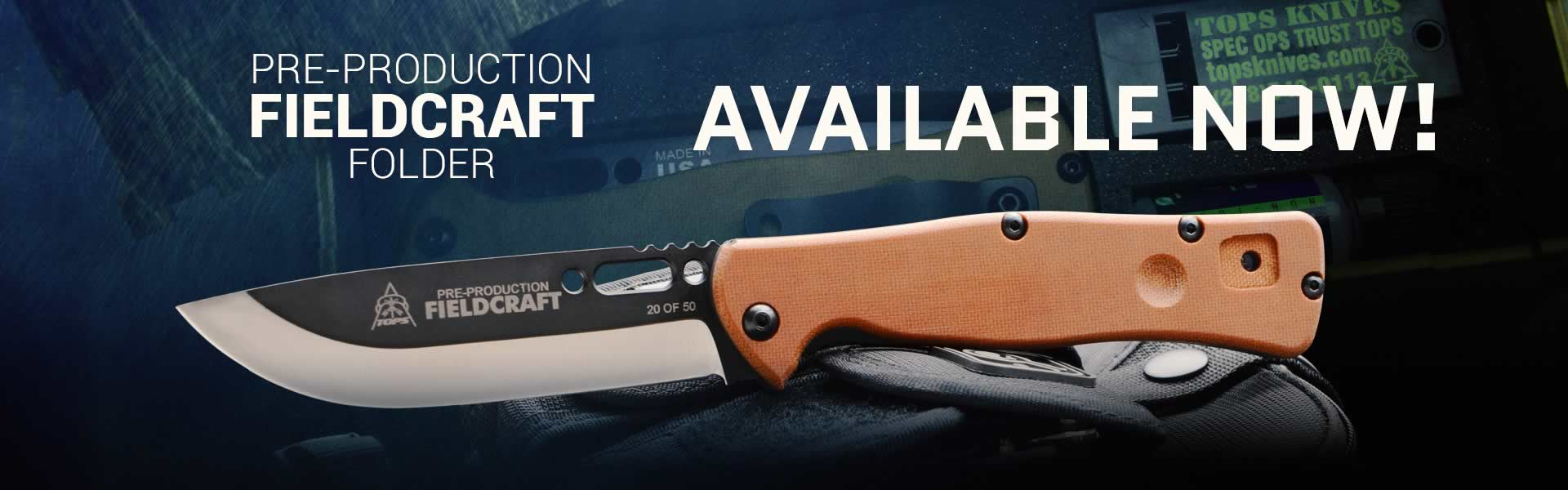 TOPS Fieldcraft Folder - Now Available