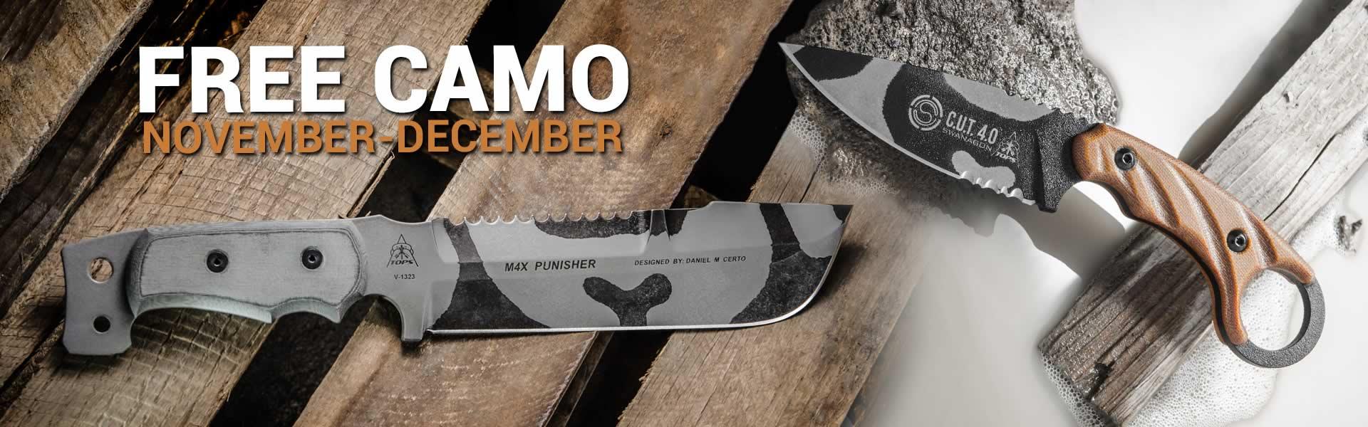 TOPS Knives - Free Camo